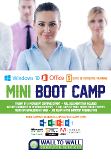 Mini BootCamp Course Outlines